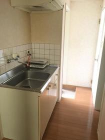 ジュピター1 105号室のキッチン