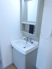 サンガーデン南町田A棟 205号室の洗面所