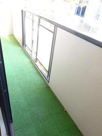サンガーデン南町田A棟 205号室のバルコニー