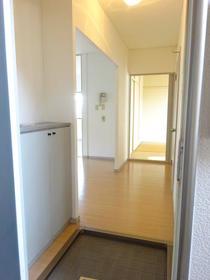サンガーデン南町田A棟 205号室の玄関
