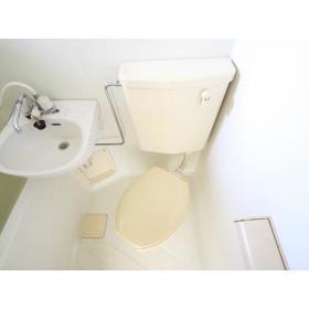 パティオ・HAGI 203号室のトイレ