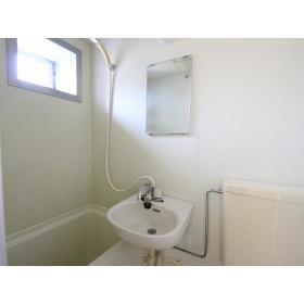 パティオ・HAGI 203号室の洗面所