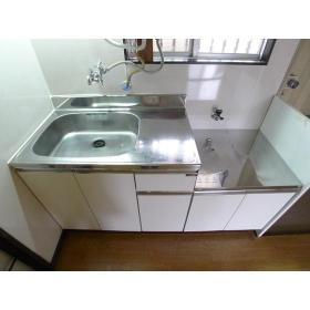 グリーンヴィラ桜ヶ丘 205号室のキッチン