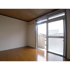 グリーンヴィラ桜ヶ丘 205号室のバルコニー
