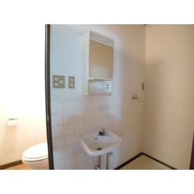 グリーンヴィラ桜ヶ丘 205号室の洗面所