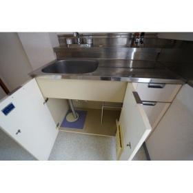 シティハイム大島 0202号室のキッチン