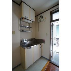シティハイム大島 0202号室の玄関