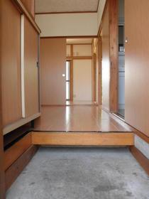 第二メゾンミドリ 101号室の玄関
