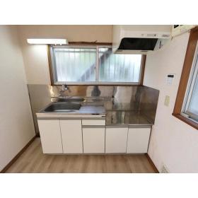 ひろせコーポ 102号室のキッチン
