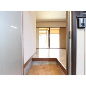 ひろせコーポ 102号室の玄関