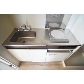 フレクション南林間 502号室のキッチン