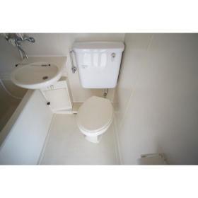 フレクション南林間 502号室のトイレ
