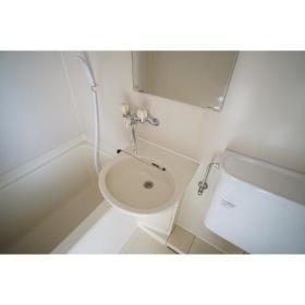 フレクション南林間 502号室の洗面所