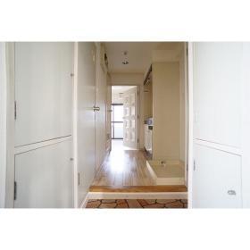 フレクション南林間 502号室の玄関