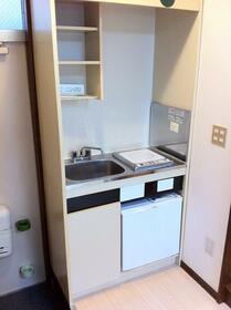 スリーエイト瀬谷 202号室のキッチン