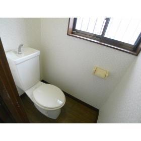 ハイツ横尾 201号室のトイレ