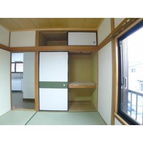 ハイツ横尾 201号室の収納