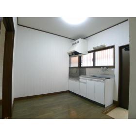 ハイツ横尾 201号室のキッチン