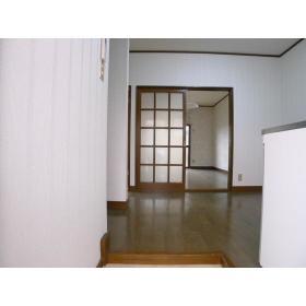 ハイツ横尾 201号室の玄関