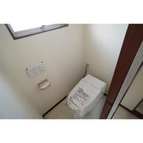 第1映光ビル 305号室のトイレ