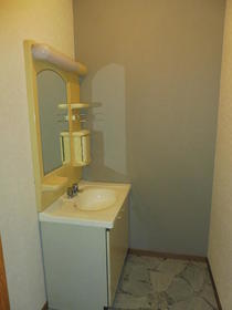 NAKⅠ 102号室の洗面所