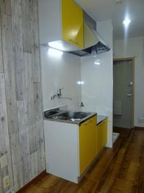 コーポパトリニア 101号室のキッチン