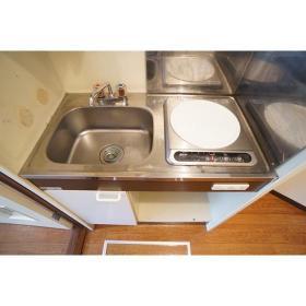 コーポ・アイ 101号室のキッチン