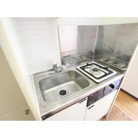 プラザドゥディーンB 102号室のキッチン