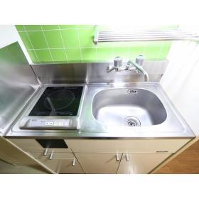 トップマンション桜ヶ丘第3 202号室のキッチン