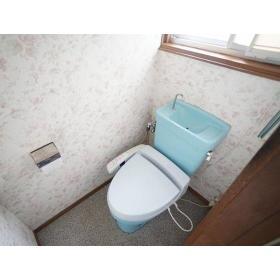 中央林間西2丁目貸家のトイレ