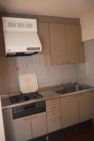 荻窪ハイツ 101号室のキッチン