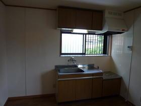 レスト 203号室のキッチン