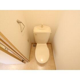 ハイラーク桜ヶ丘XI 201号室のトイレ