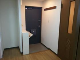 第2林マンション 303号室の玄関