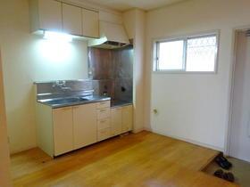 アルカディアドリームA棟 102号室のキッチン