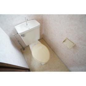 コーポ松下 201号室のトイレ