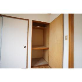 コーポ松下 201号室の収納
