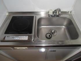 シルフィード相武台 405号室のキッチン