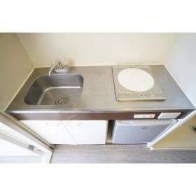 セザール第2鶴間 406号室のキッチン