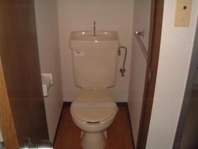 シティハイムAIZAWA D 102号室のトイレ