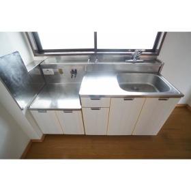 イケダハイツ 201号室のキッチン