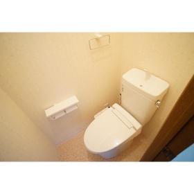イケダハイツ 201号室のトイレ