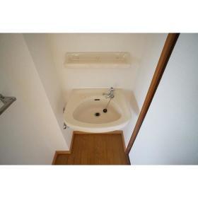 イケダハイツ 201号室の洗面所