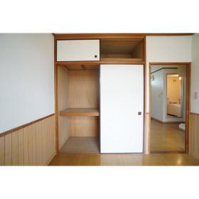 イケダハイツ 201号室の収納