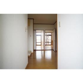 イケダハイツ 201号室の玄関
