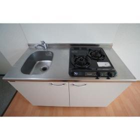 リヴェール南林間 204号室のキッチン
