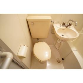 サンリバティ相模大野 203号室のトイレ