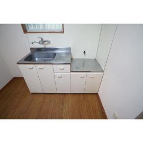 シャンテ南林間 102号室のキッチン