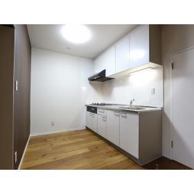 ガーデンクリア柳橋 203号室のキッチン
