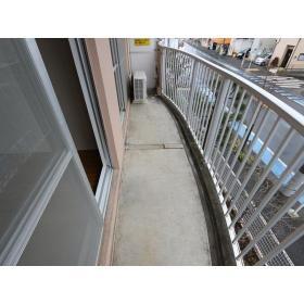 ガーデンクリア柳橋 203号室のバルコニー